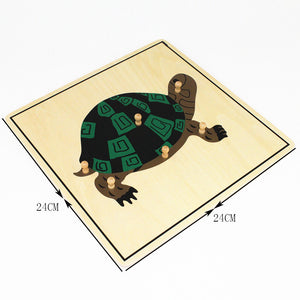 Turtle Puzzle (Plywood)