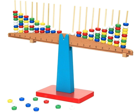 Vertical Rods Stacking Scale - Wonder Eduquip
