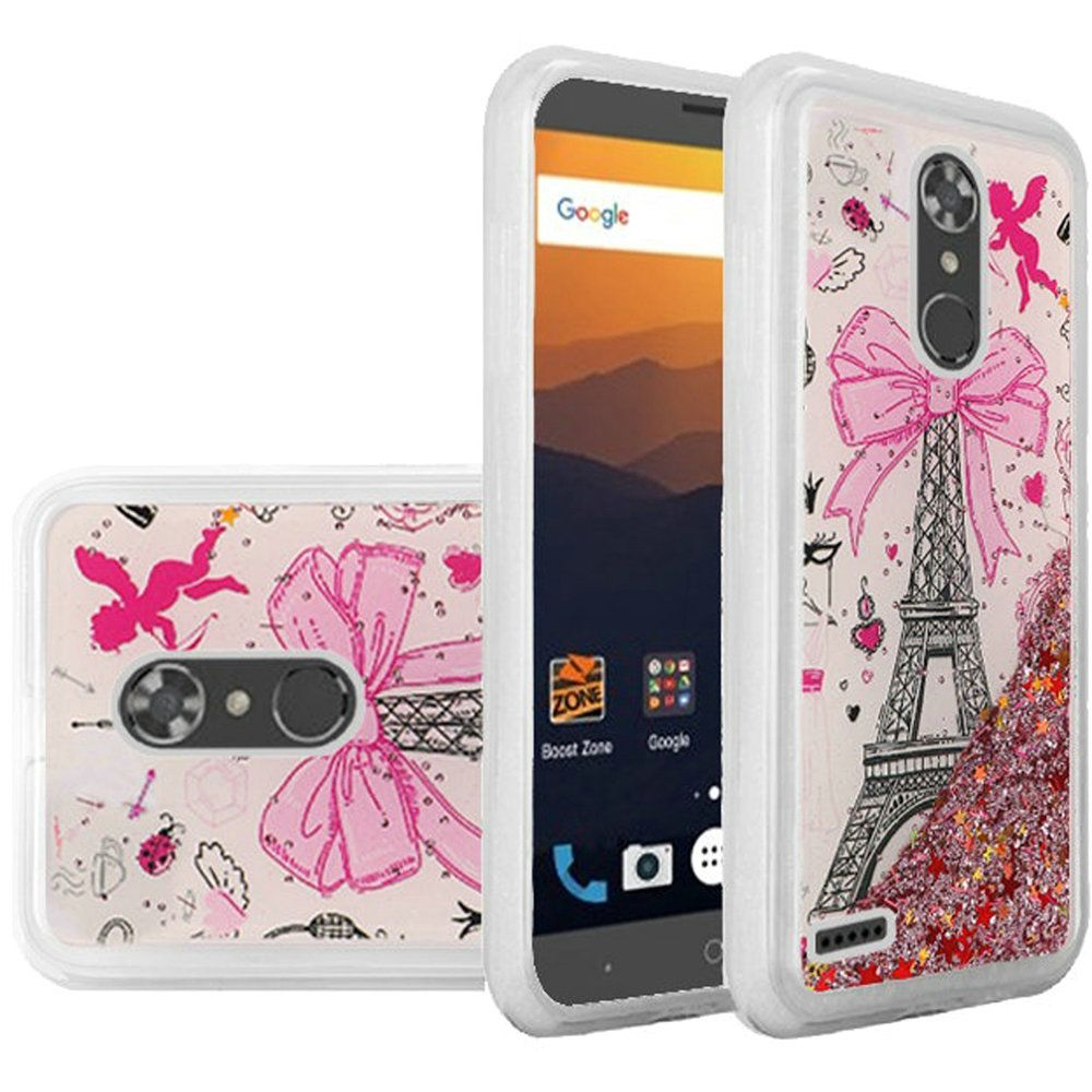 best sneakers dd811 7e812 ZTE Max XL Case, ZTE Blade Max 3 Z986 Case, ZTE Bolton 4G LTE Case, Moving  Sand Liquid Case Sparkling TPU Cover Protector Case for ZTE Blade Max 3 ...