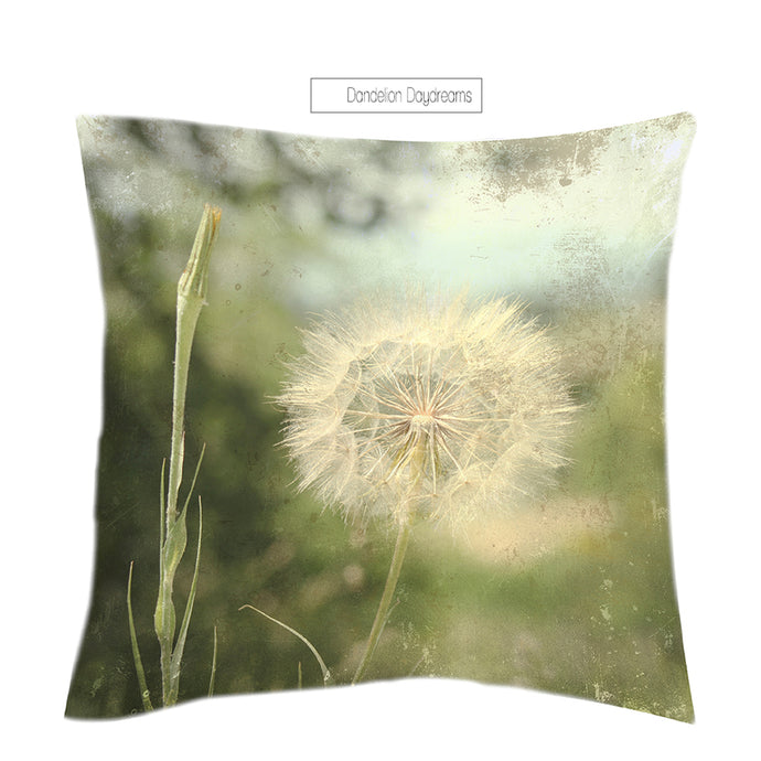 """Dandelion Daydreams"" Scatter Cushion"