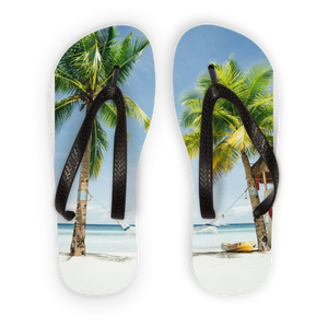 pALM Trees Kids Flip Flops