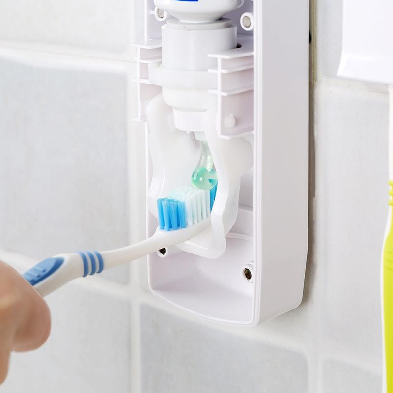 1 Set Creative Automatic Toothpaste Dispenser-Hearts and Gifts