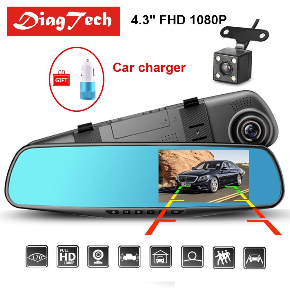 2019 Car DVR Dash Camera and Recorder Video-mirror-Hearts and Gifts