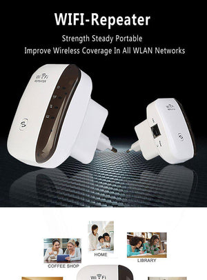 300Mbps Wifi Repeater Wireless-wifi-Hearts and Gifts