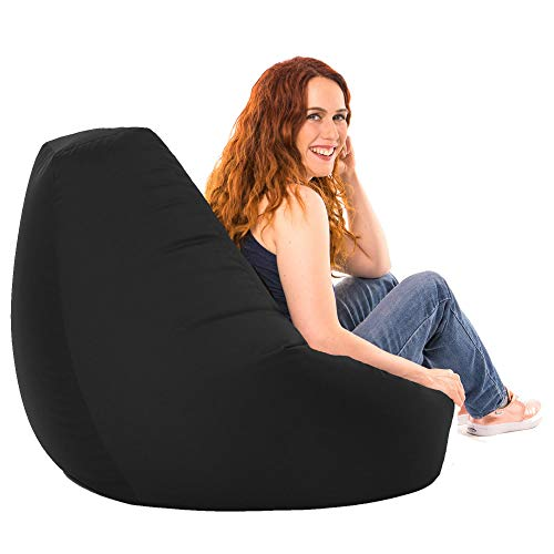 Beautiful Adult Highback Beanbag for Indoor and Outdoor Use