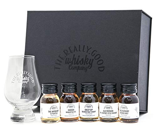 Whisky Tasting Gift Set - An Experience in a Box! Great Whisky Gift! FREE Delivery!