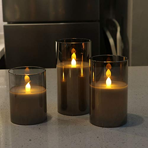 Flameless Led Candle Gift Set
