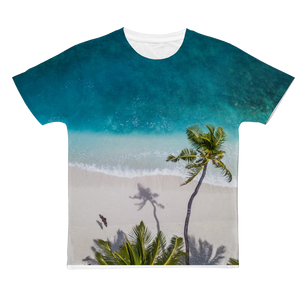 Beach Classic Sublimation Adult T-Shirt