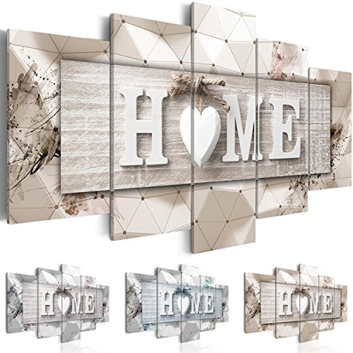 "murando Canvas Wall Art 200x100 cm/ 78.8""x 39.4"" Non-Woven Canvas Prints Image Framed Artwork Painting Picture Photo Home Decoration 5 Pieces Home Boards 3D m-C-0251-b-p"