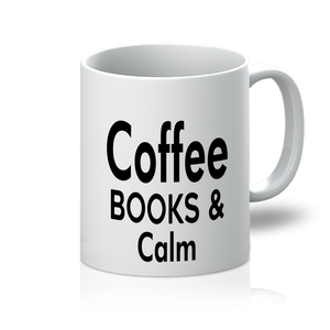 Coffee Books and Calm 11oz Mug