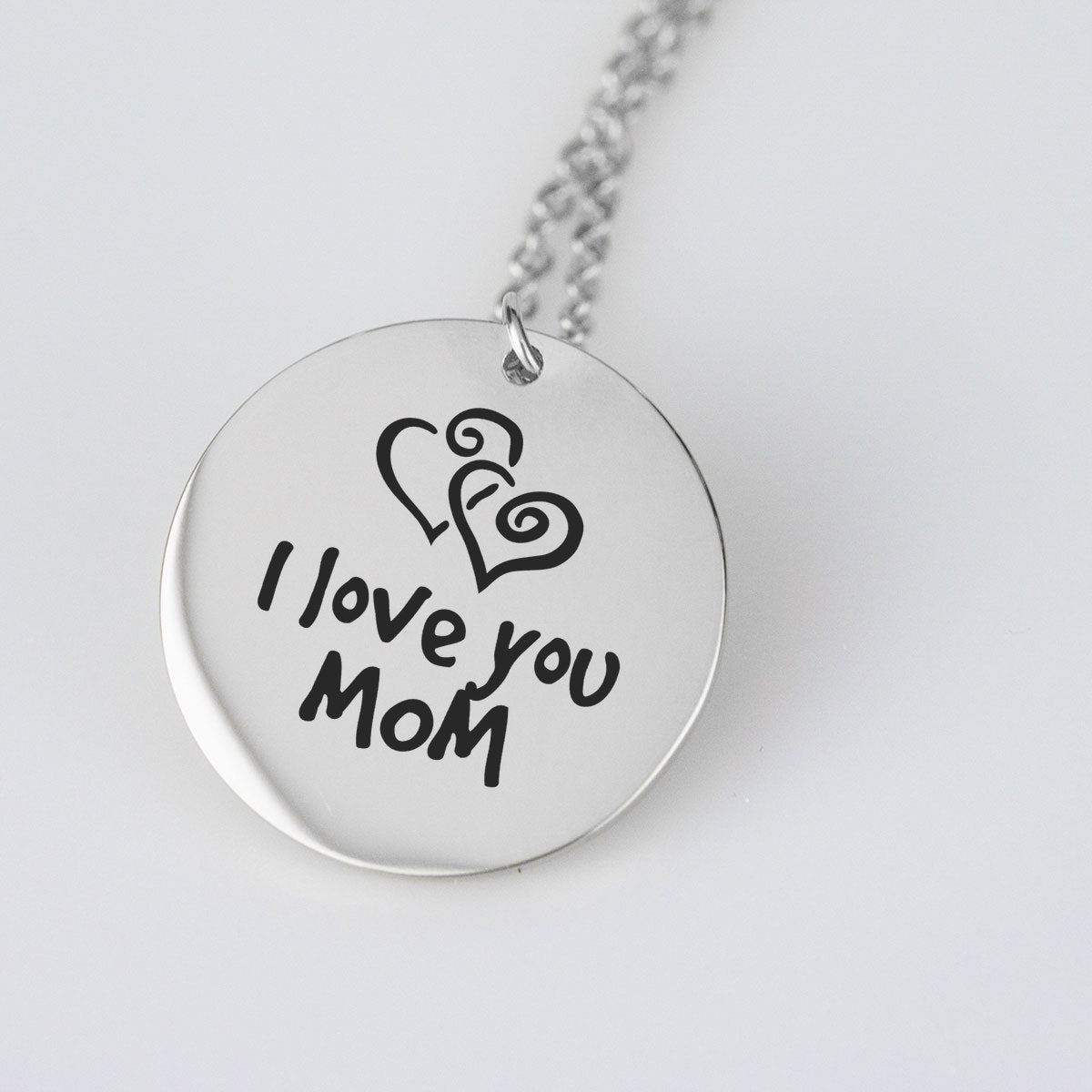I Love you so much Gold Pendant