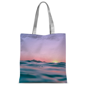 Sunset Classic Sublimation Tote Bag