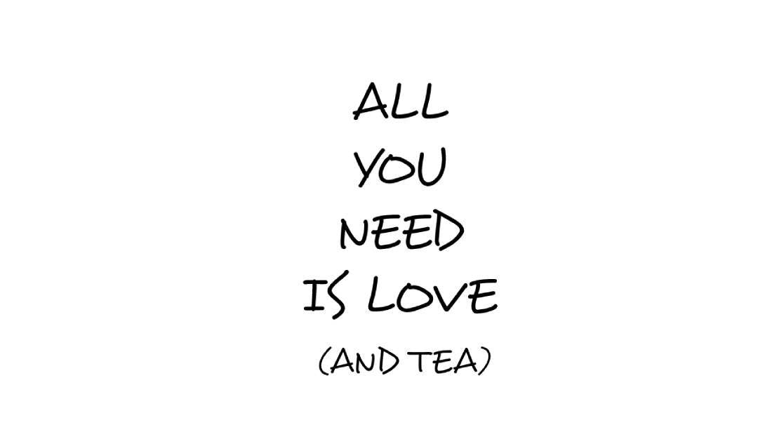 All You Need Is Love (and Tea) Mug-Hearts and Gifts