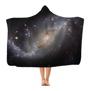 Astronomy Constellation Adult Hooded Blanket