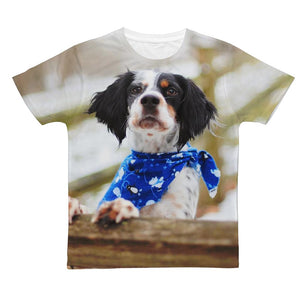 Bandana Classic Sublimation Adult T-Shirt-Apparel-Hearts and Gifts