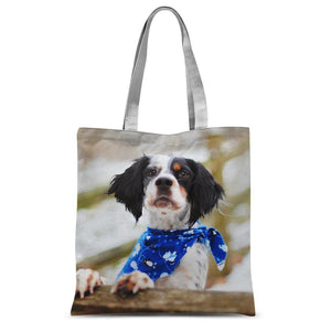 Bandana Classic Sublimation Tote Bag-Accessories-Hearts and Gifts