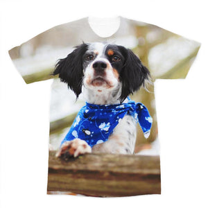 Bandana Premium Sublimation Adult T-Shirt-Apparel-Hearts and Gifts