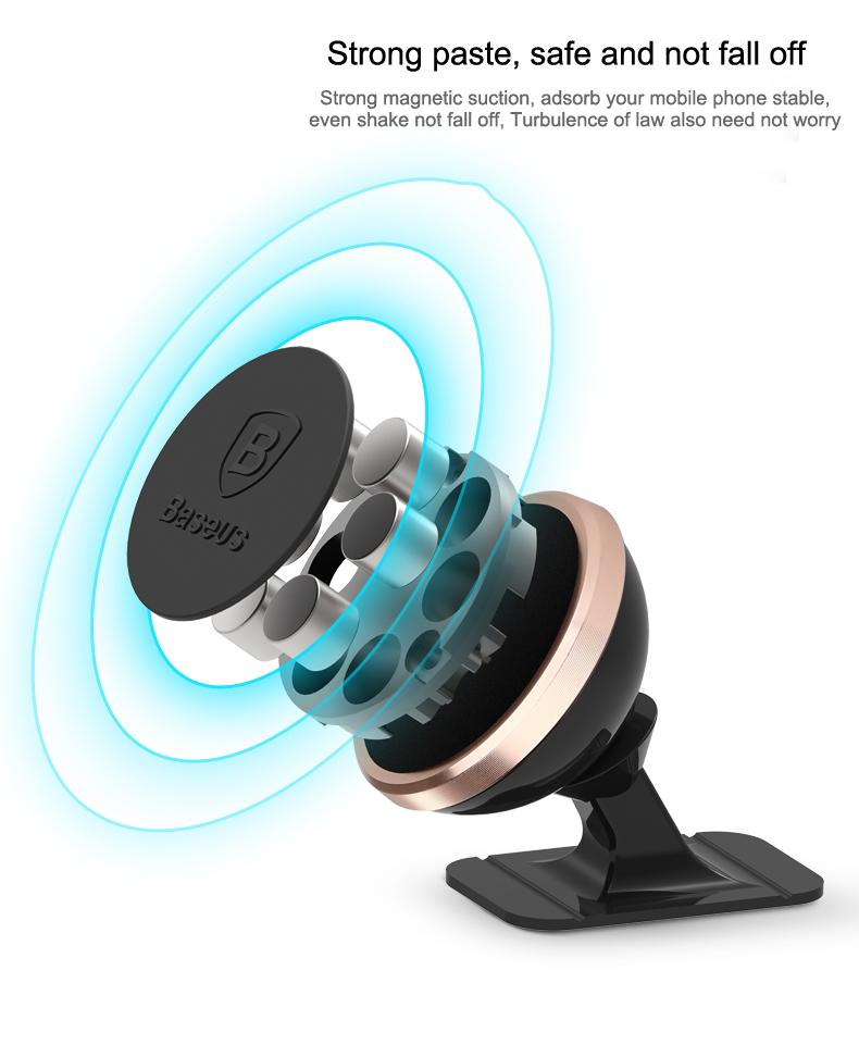 BASEUS 360 DEGREE CAR PHONE HOLDER-Car-Hearts and Gifts