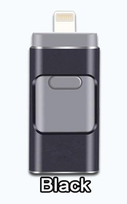BRU USB Flash Drive for iPhone-Hearts and Gifts