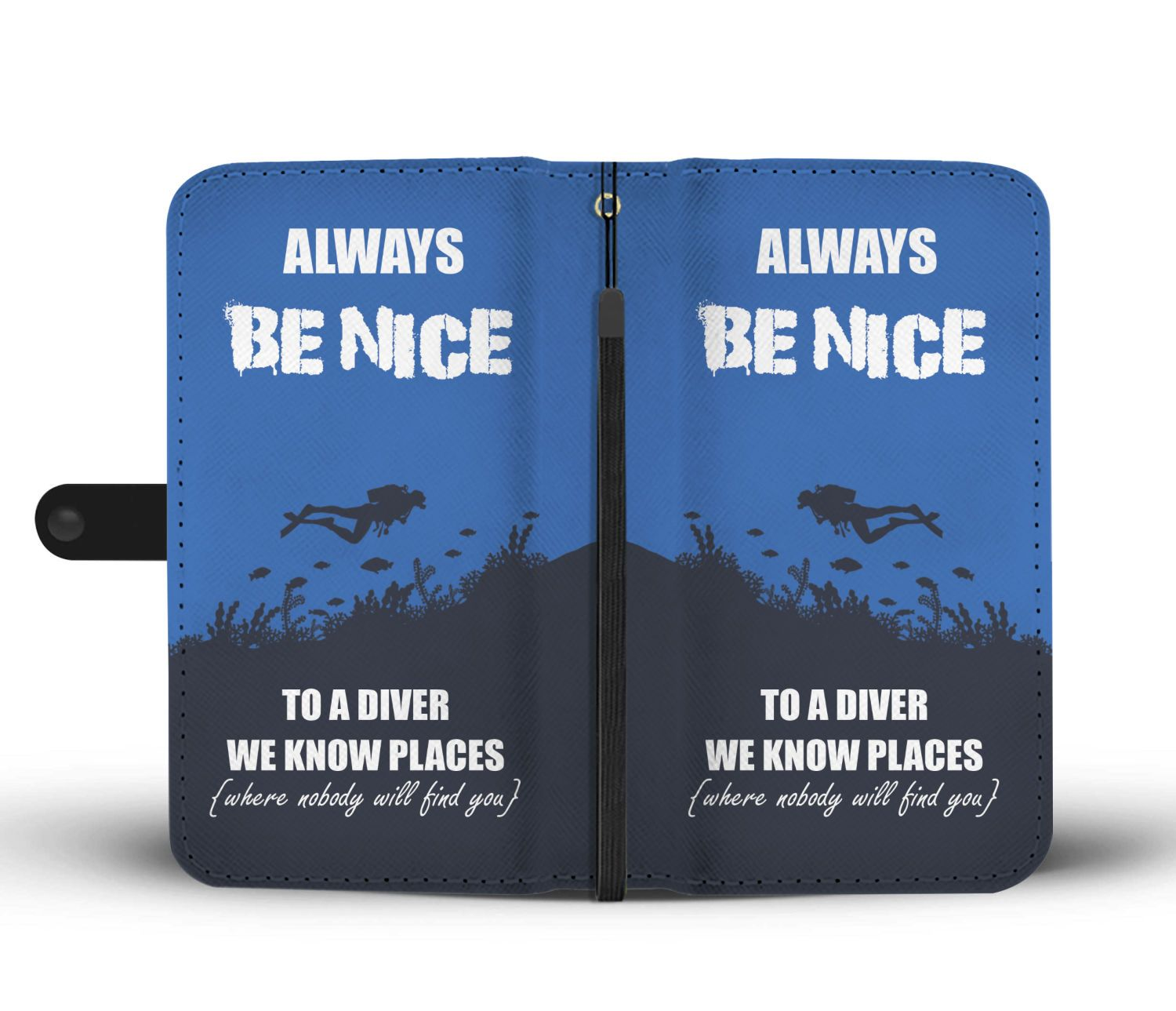 Diver Phone Wallet-Wallet Case-Hearts and Gifts