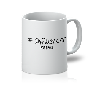 INfluence for Peace 11oz Mug
