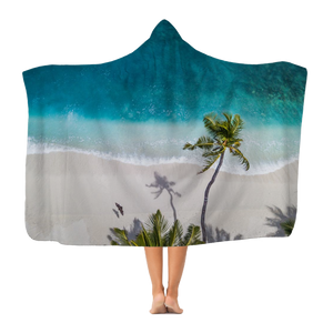 Beach Classic Adult Hooded Blanket