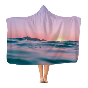 Sunset Classic Adult Hooded Blanket