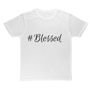 #Blessed Classic Adult T-Shirt