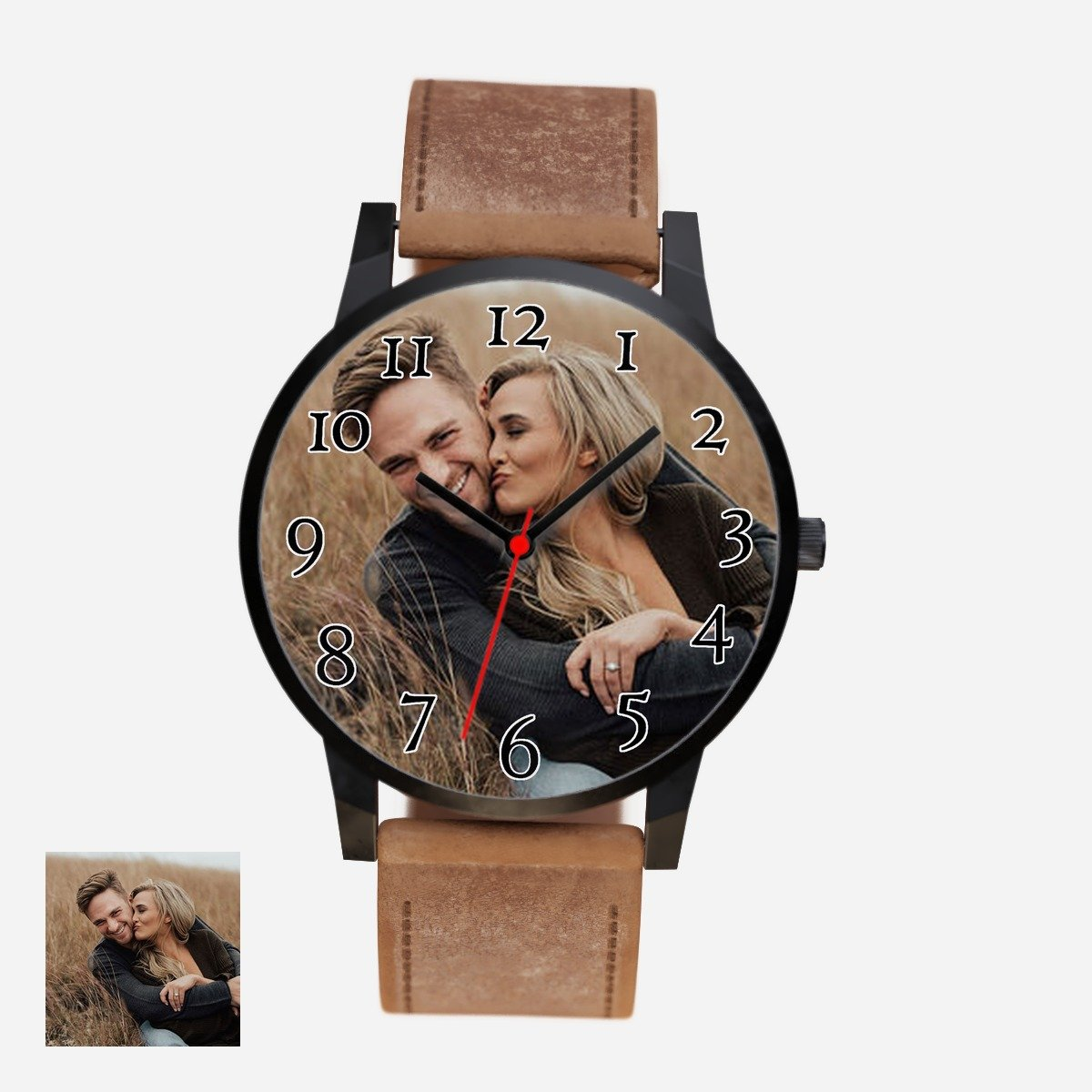 Happy Couple Watch-watch-Hearts and Gifts
