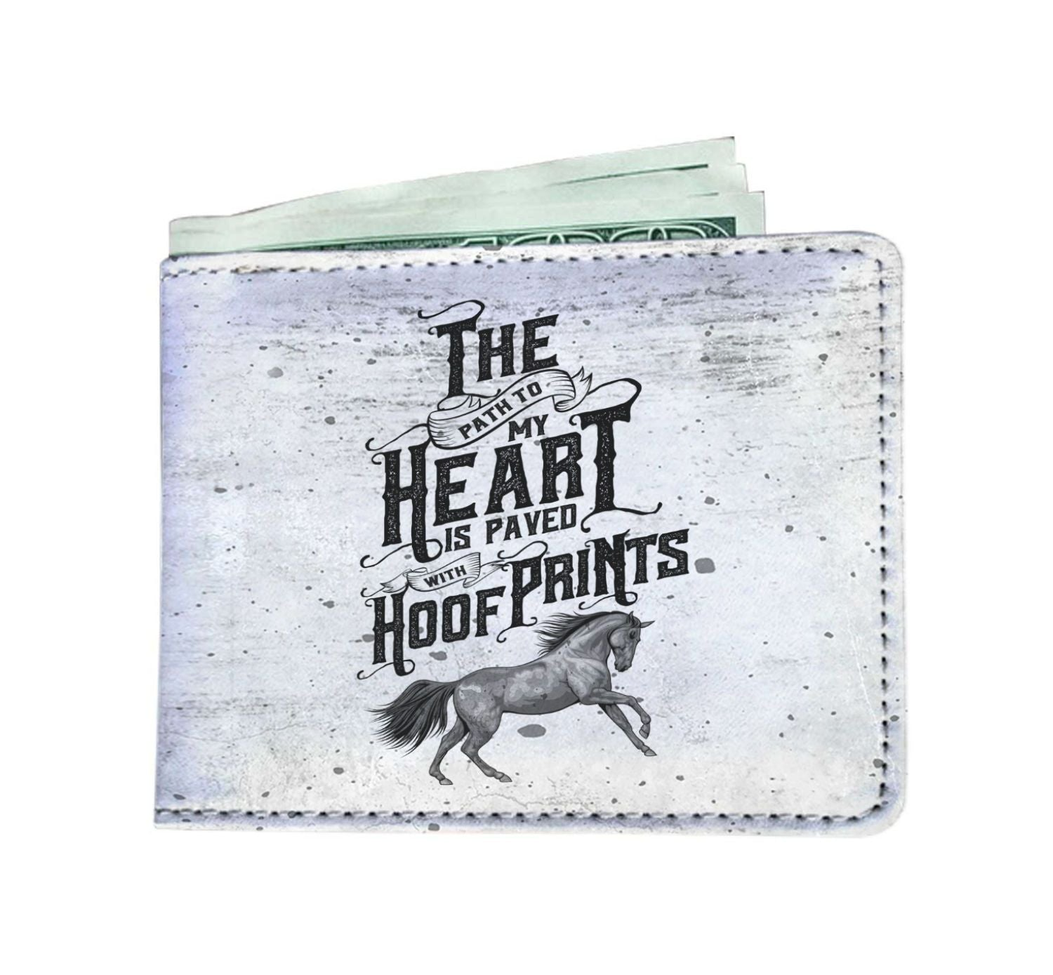 Horse Lover-Mens Wallet-Hearts and Gifts