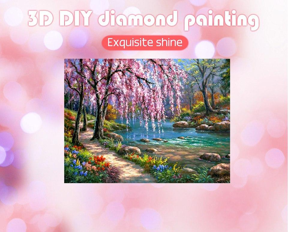 Huacan Diamond Painting Landscape-painting-Hearts and Gifts