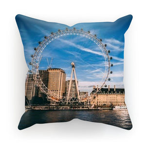 London Sublimation Cushion Cover-Homeware-Hearts and Gifts