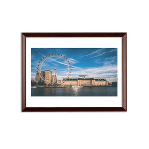 London Sublimation Wall Plaque-Homeware-Hearts and Gifts