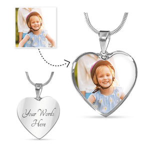 Luxury Heart Shaped Pendant-Jewelry-Hearts and Gifts