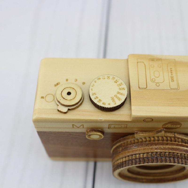New Cute Nordic Hanging Wooden Camera Toy-Hearts and Gifts