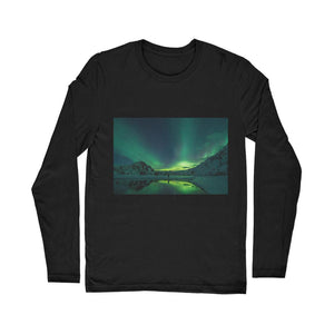 Norther Lights Classic Long Sleeve T-Shirt-Apparel-Hearts and Gifts