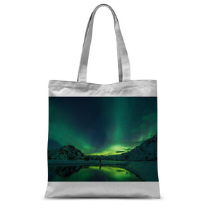 Norther Lights Classic Sublimation Tote Bag-Accessories-Hearts and Gifts
