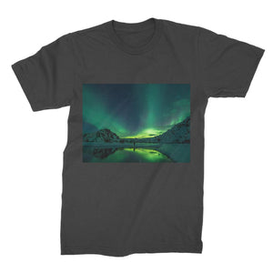 Norther Lights Premium Jersey Men's T-Shirt-Apparel-Hearts and Gifts