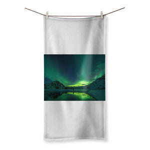 Norther Lights Sublimation All Over Towel-Homeware-Hearts and Gifts