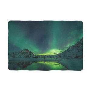 Norther Lights Sublimation Pet Blanket-Accessories-Hearts and Gifts