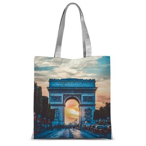 Paris Classic Sublimation Tote Bag-Accessories-Hearts and Gifts