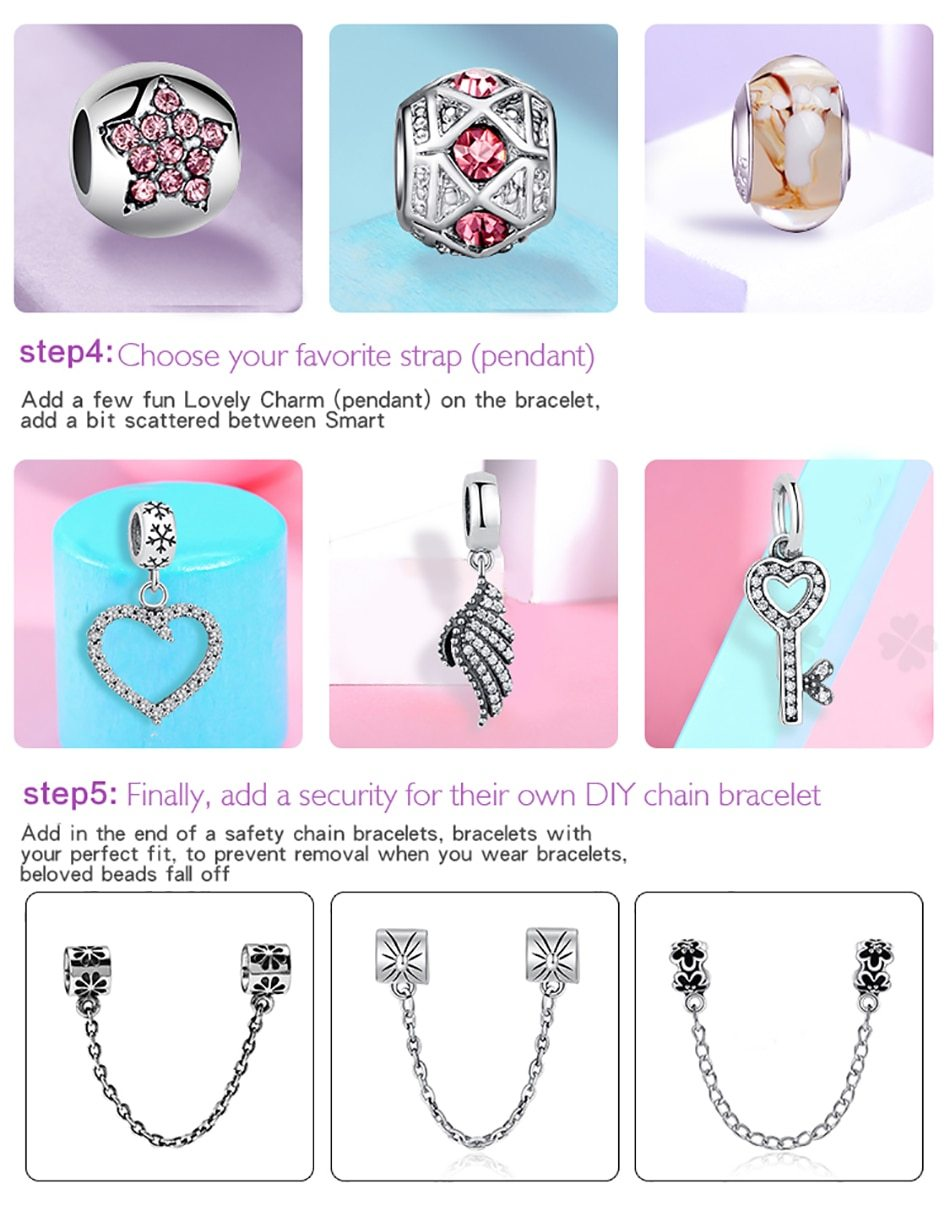 Personalized 925 Sterling Silver Custom Photo Heart Charms-photo charm-Hearts and Gifts