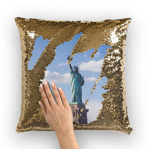 USA Sequin Cushion Cover-Homeware-Hearts and Gifts