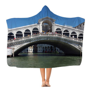 Venice Classic Adult Hooded Blanket-Apparel-Hearts and Gifts