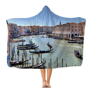 Venice Premium Adult Hooded Blanket-Apparel-Hearts and Gifts