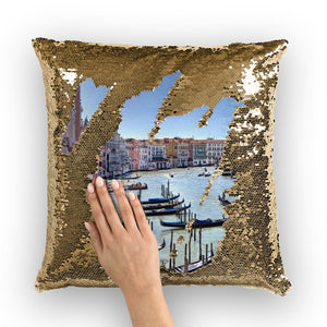 Venice Sequin Cushion Cover-Homeware-Hearts and Gifts