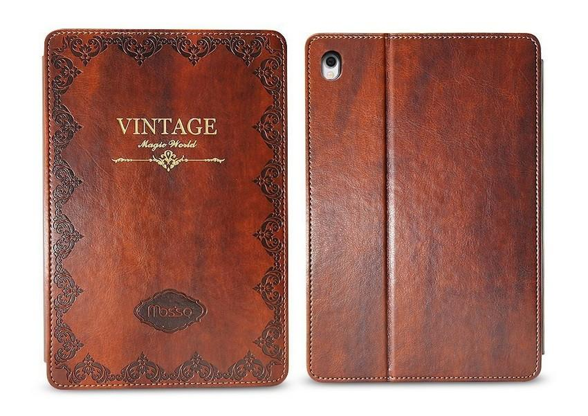 VINTAGE LEATHER IPAD CASE-Hearts and Gifts