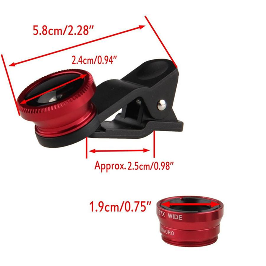 YIFUTE 5in1 10x Zoom Macro Fish Eye Lens-Tech Accessories-Hearts and Gifts