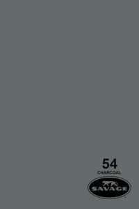 Savage Charcoal #54 Seamless Background Backdrop Paper. Widetone 2.71m x 11m. Free Shipping!