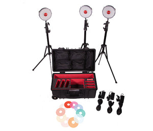 Rotolight NEO 2 LED 3-Light Kit Including Stands & Case